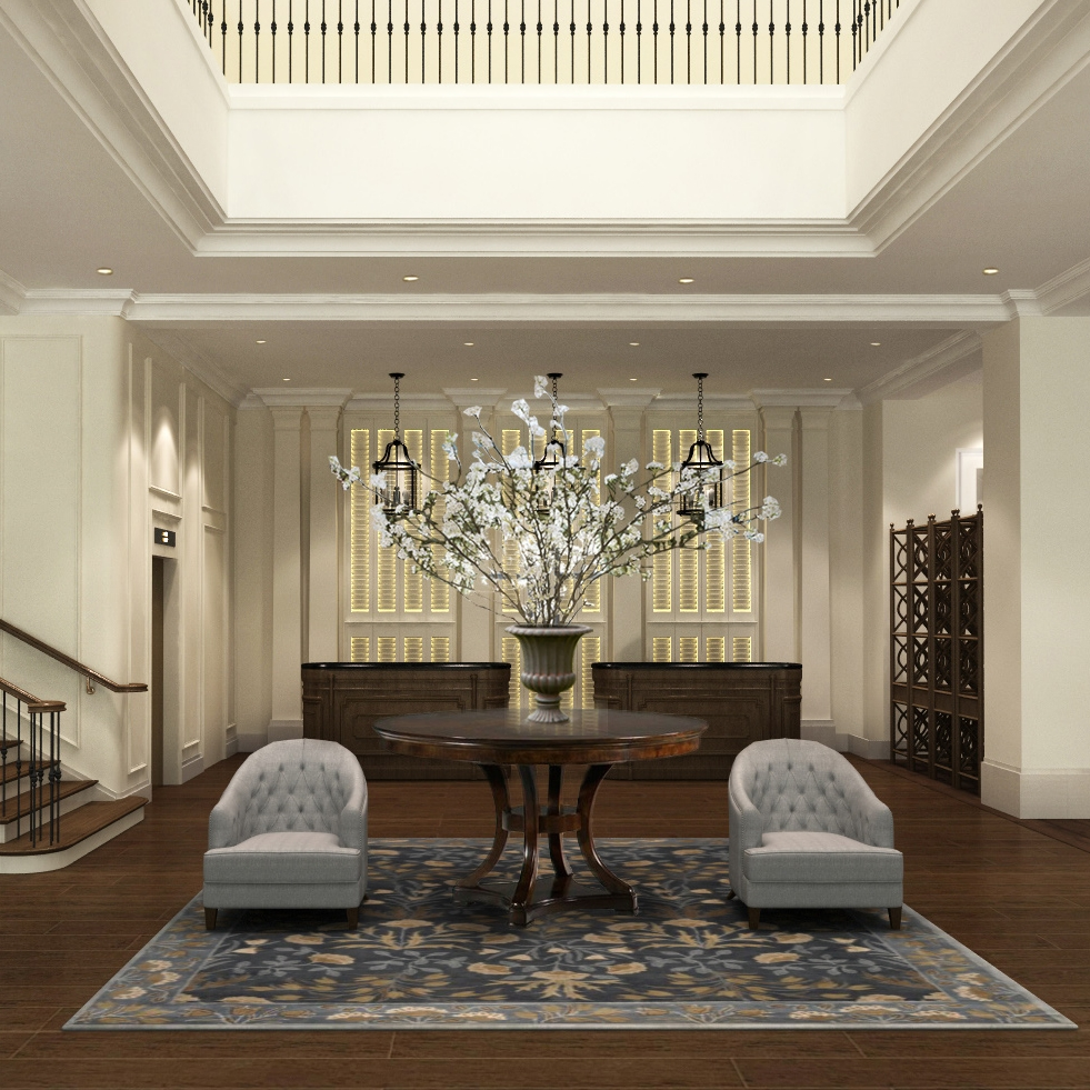 Attitude Asia Interior Design Luxury comercial interior by Suzanne Wong