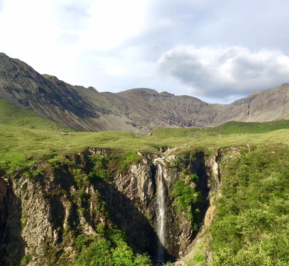 From Glen Brittle looking in to Coire na Banachdich.