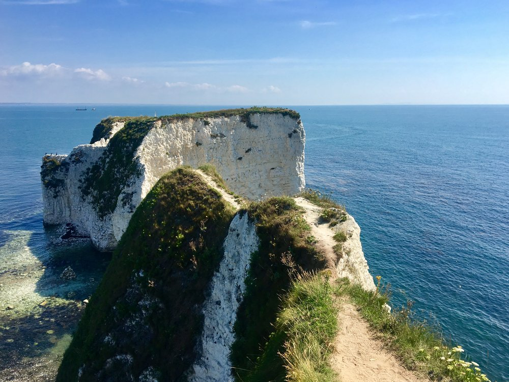 Old Harry's Rocks, a dead end. I checked.