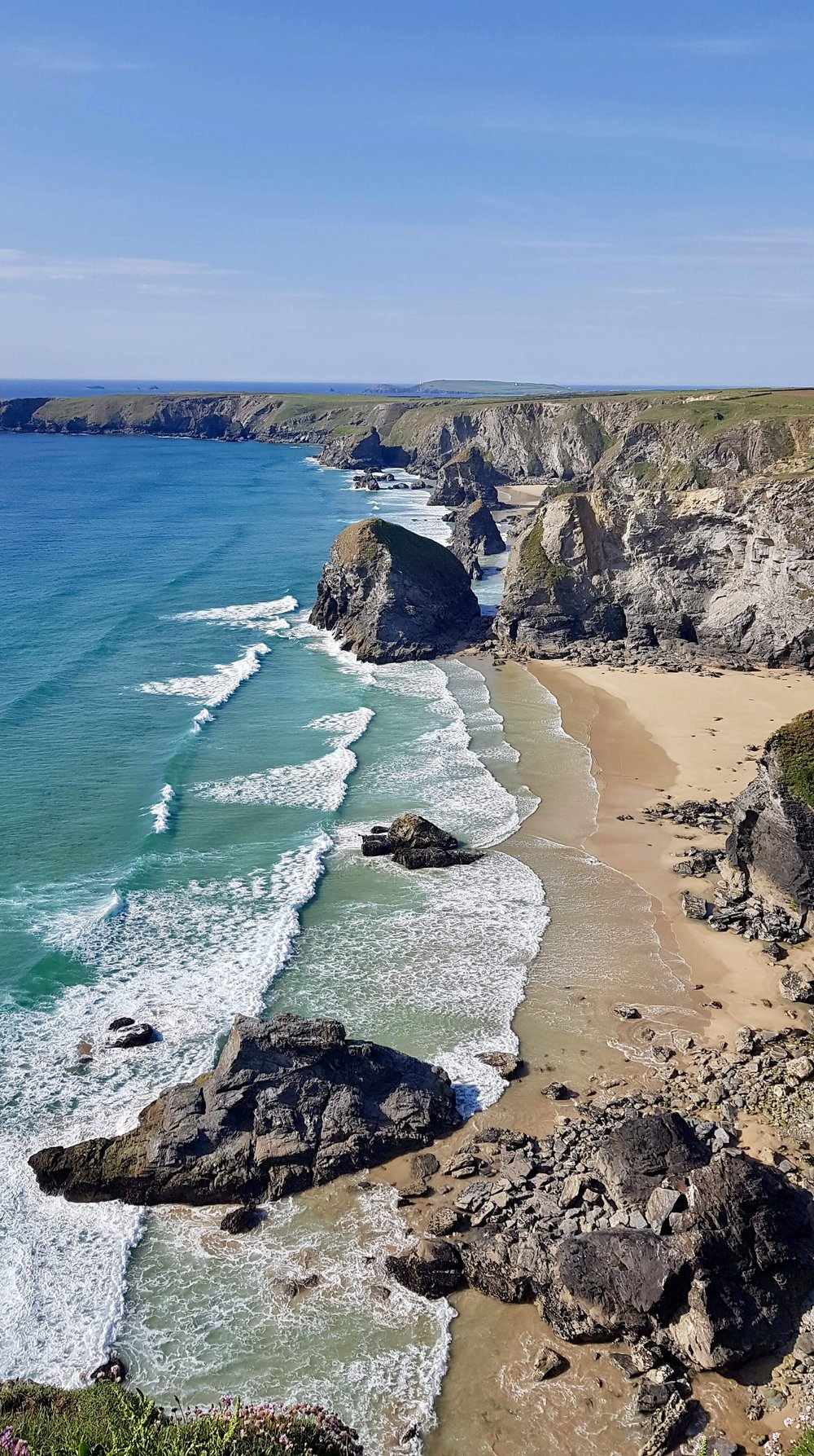 Bedruthan Steps (image courtesy of Sam Little)