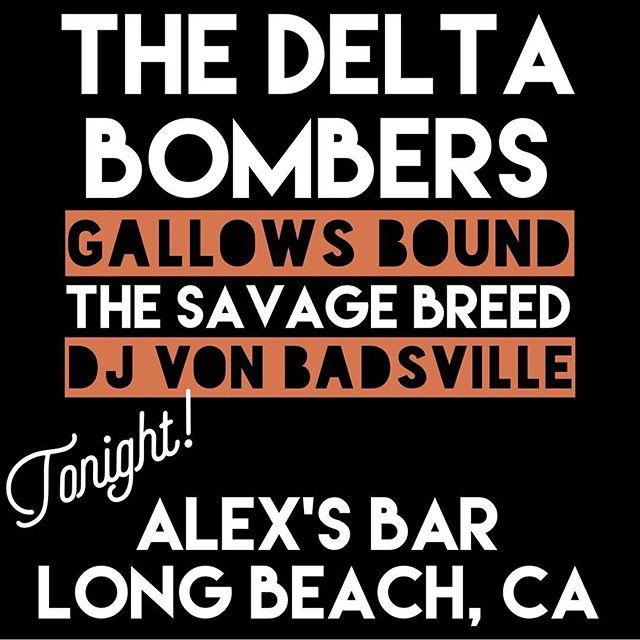 @vonbadsville of the #LBPsyclone will be DJ'n tonight at #AlexsBar in #LongBeach!