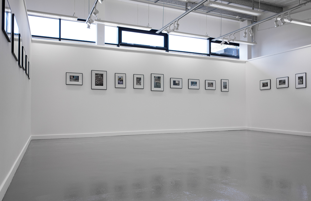 Installation view of the  Sector 17  show