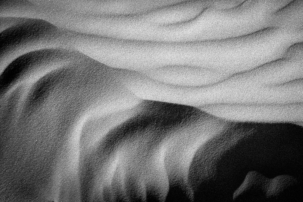 Sand Patterns  shot on Ilford XP2 Super film