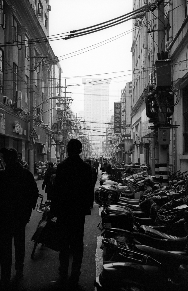 Street Silhouettes,  Leica M6TTL and HP5 Plus film