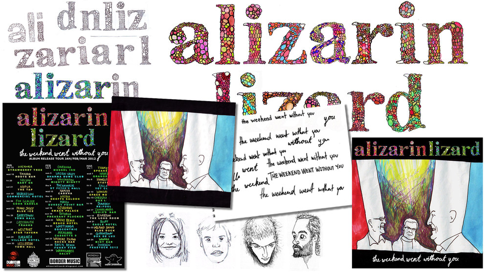 Alizarin Lizard - The Weekend Went Without You