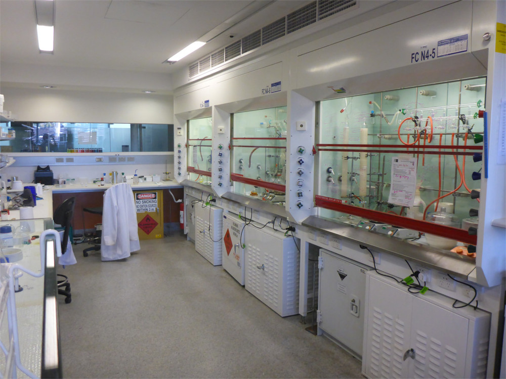 Laboratory Working Areas