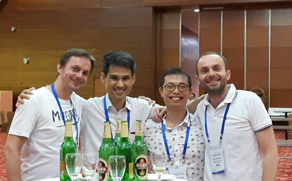 Maciej Sniechowski, Kazuo Takimiya, Wallace Wong and Wojciech Pisula
