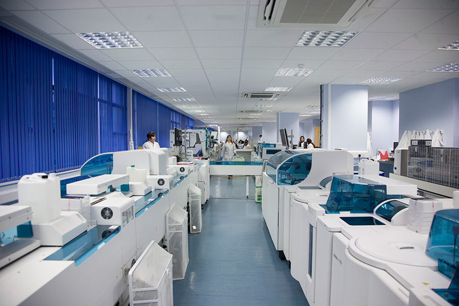 The Results - 100% increase in workload capacityCambridge University Hospital saved 64% in facility rental cost leading to an improved test-per-square metre. They optimised workflow and increased functional areas by 100%. This was all acheived by aligning their infrastructure with their processes.