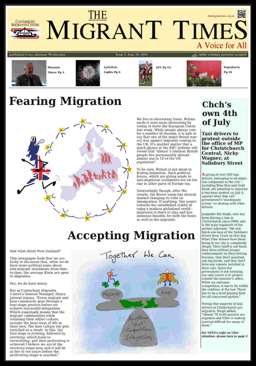 Click on the image to read the pdf version    Issue 2, June 29 - July 12, 2016