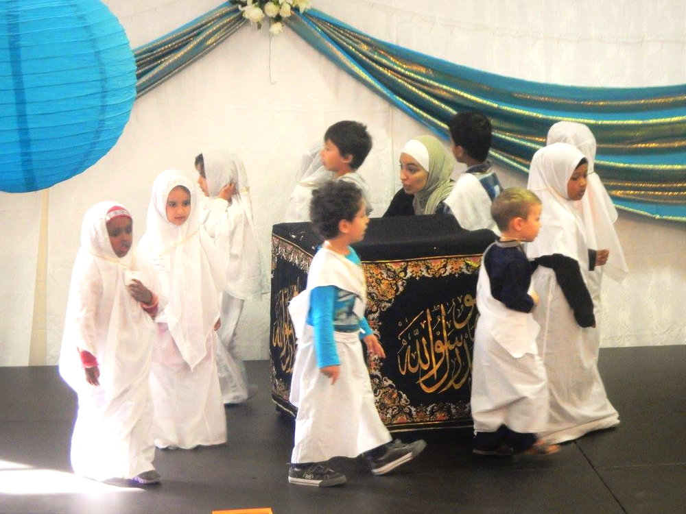 Children were given a feel of Islamic culture and traditions