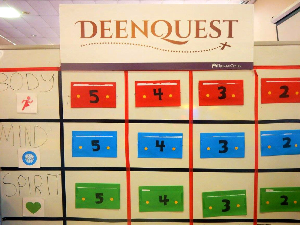 Islam-inspired treasure hunt - DeenQuest - garnered many participants