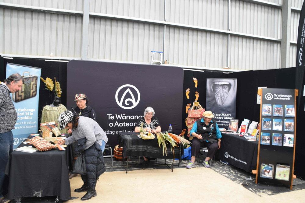 Maori crafts by Te Wananga o Aotearoa - a bicultural approach to business