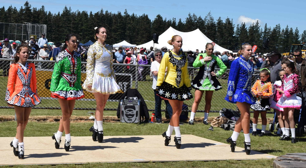 Scottish Country and Irish dancing demostrations