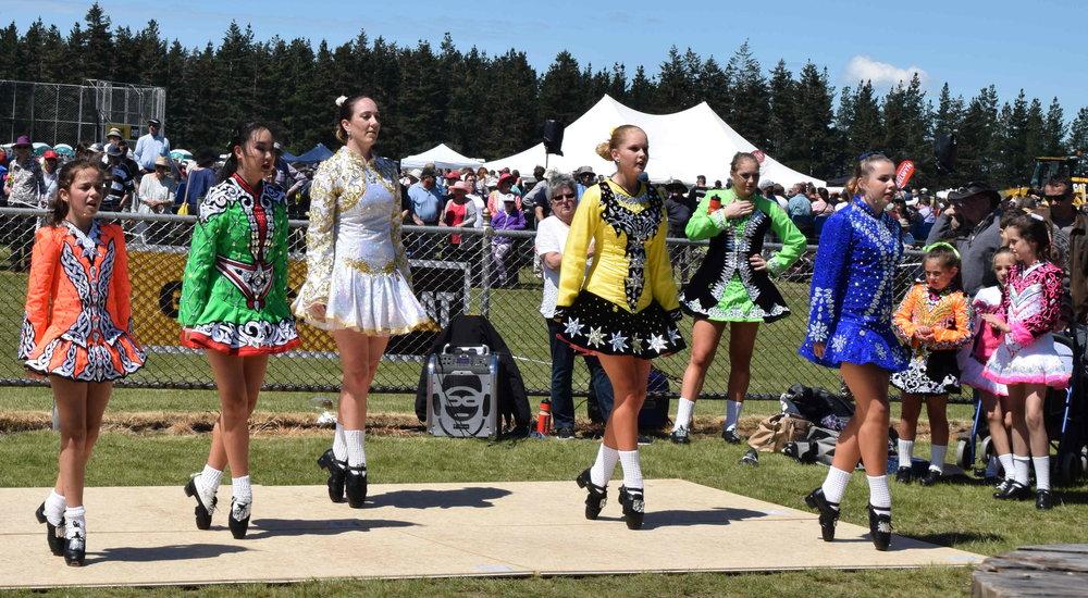 Scottish Country and Irish dancing demostrations