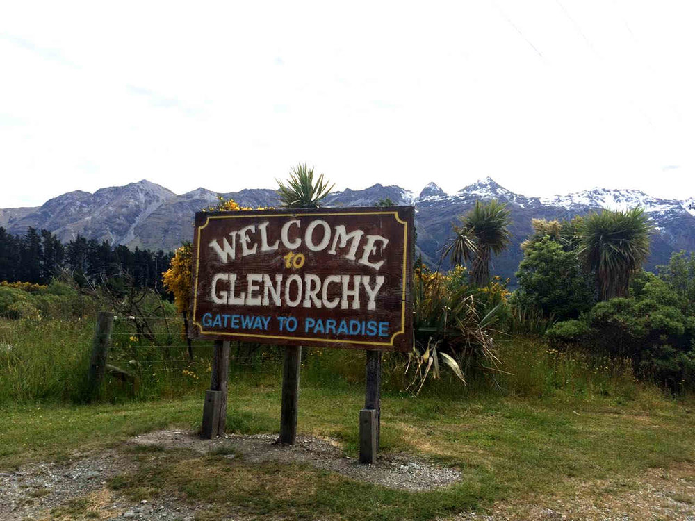 "In Queenstown, if accommodation is an issue, head towards Glenorchy - ""the gateway to paradise""."