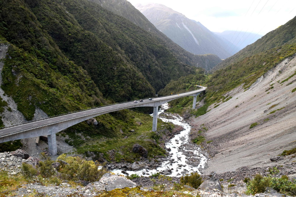 Otira Viaduct in Arthur's Pass National Park