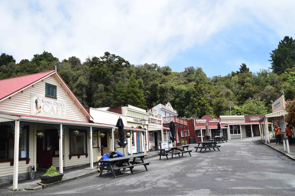 Shantytown near Greymouth in the West Coast