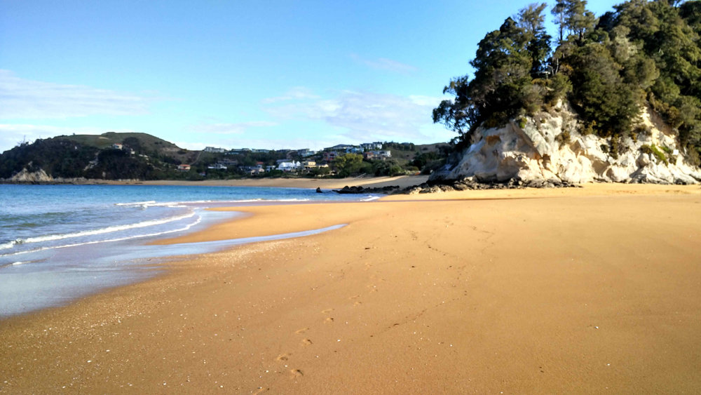 White and golden sandy beaches in Kaiteriteri