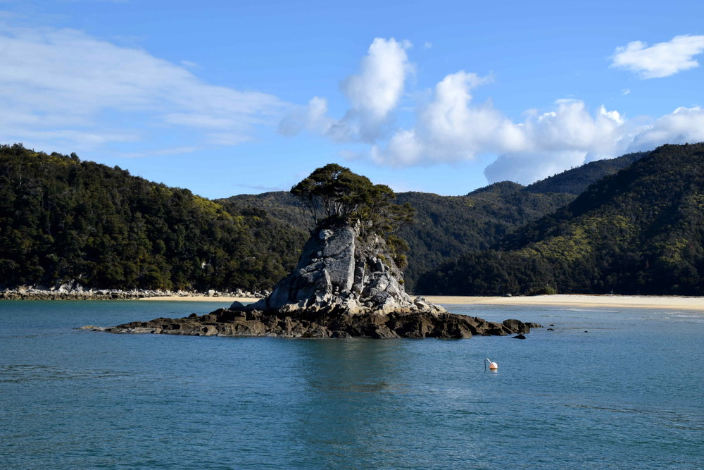 Abel Tasman National Park, country's smallest national park.