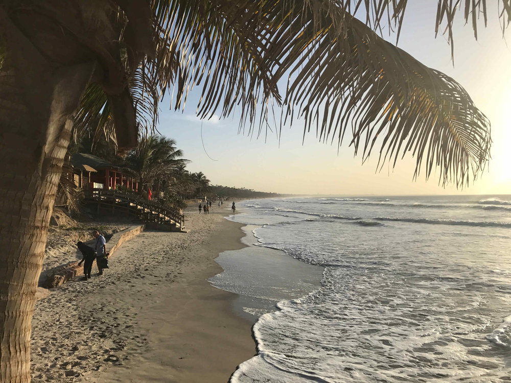 Postcard Gambia