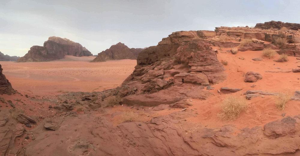 Wadi Rum or Mars?