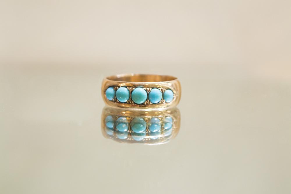 £265 - 9ct Turqouise Ring