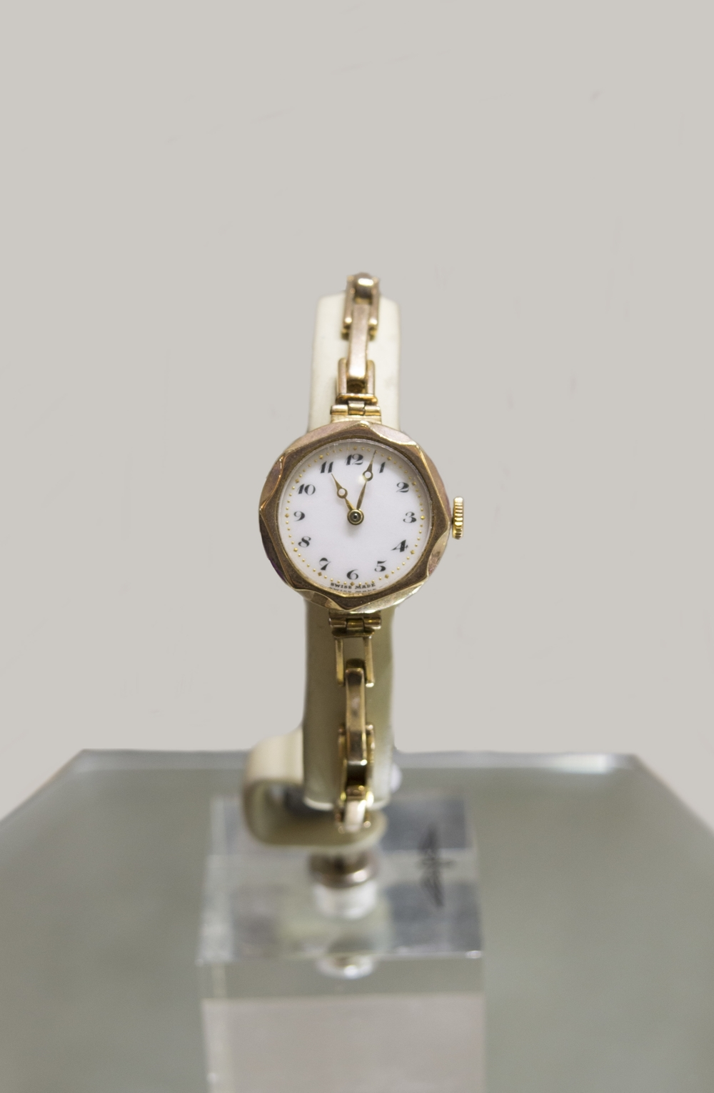 Ladies Vintage 9ct Gold Watch