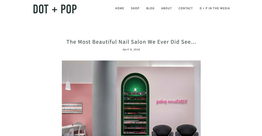 DOT + POP   PROFESSIONAIL HORNSBY