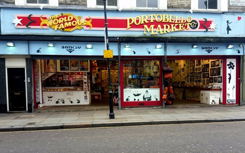 Portobello Market in London | Wanderlust Movement