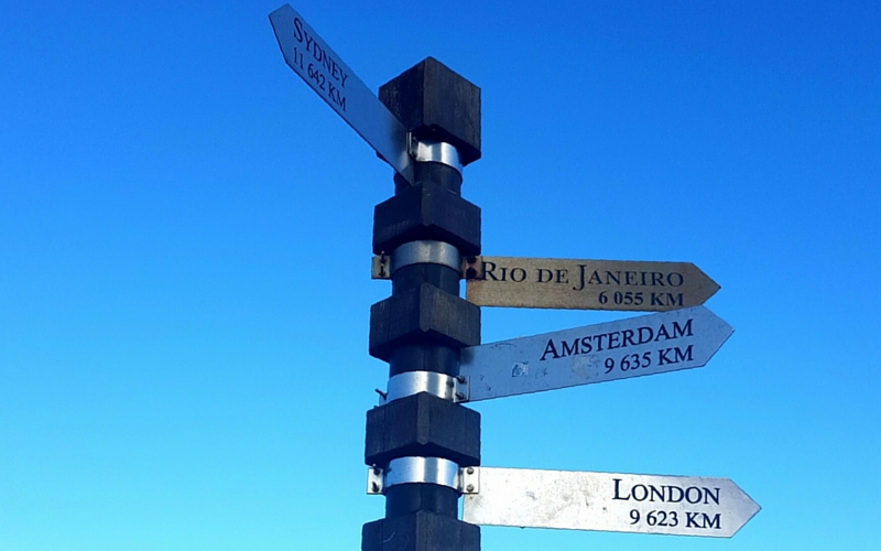 Sign Post at Cape Point | Wanderlust Movement