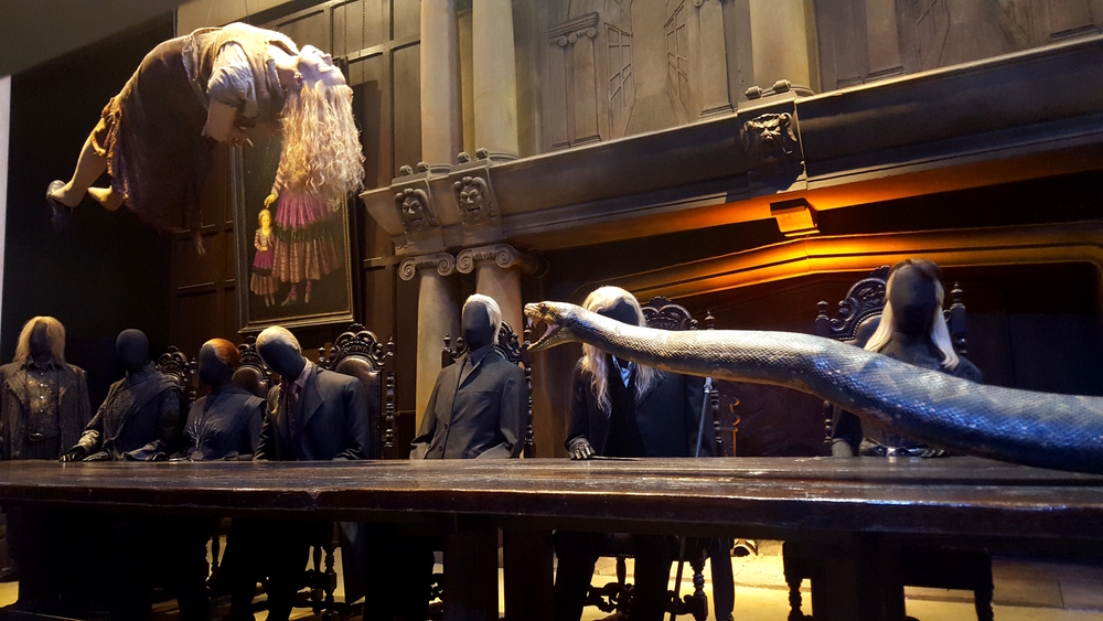 The Death Eaters in action!