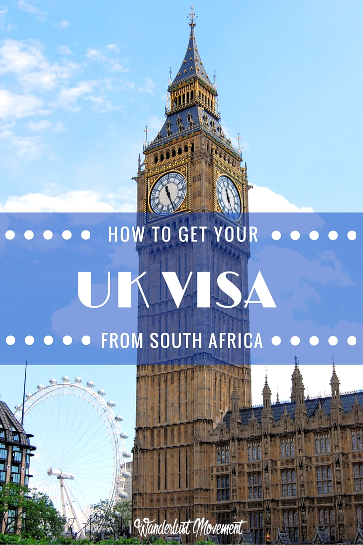 How to get your uk visa application approved from south africa