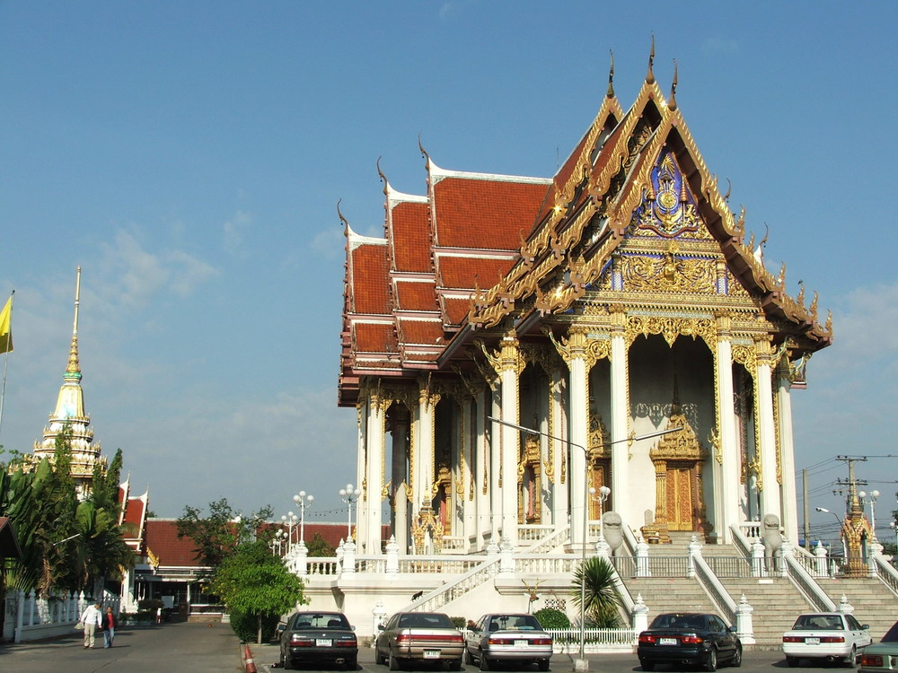 Wat Don Mueang in Bangkok, Thailand