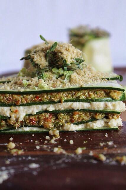 Raw Vegan Lasagne
