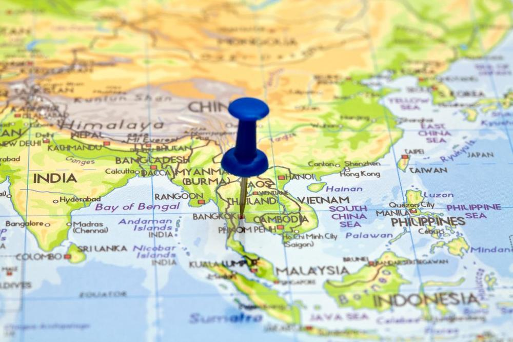 Map of Thailand | Wanderlust Movement
