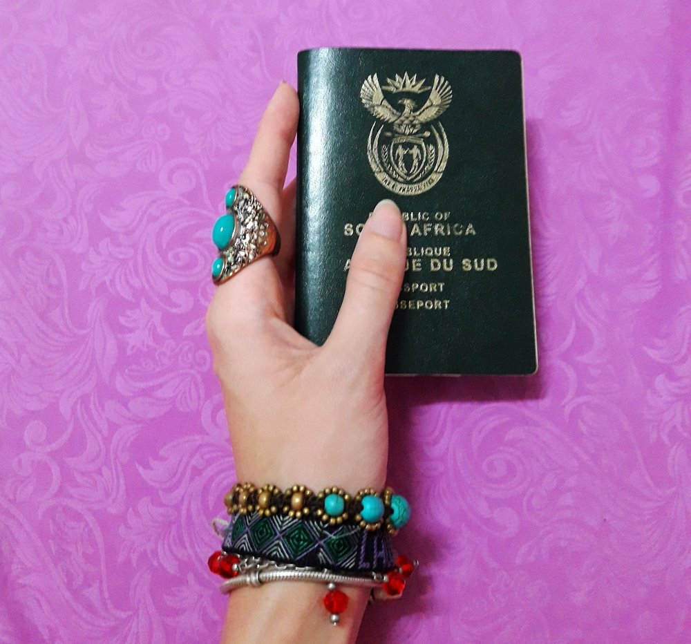 South African Passport for Thailand Visa Application | Wanderlust Movement