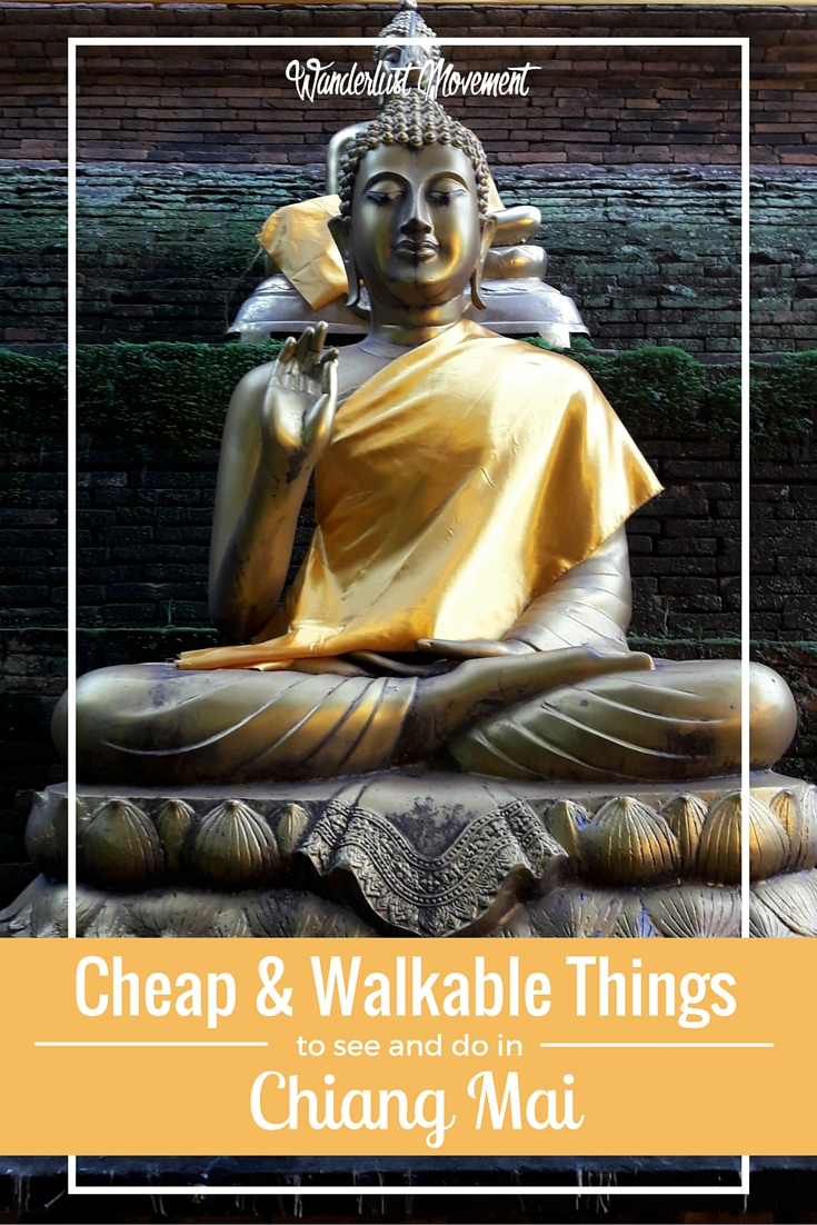 Cheap and Walkable Things to do in Chiang Mai for the Gravity Impaired | Wanderlust Movement