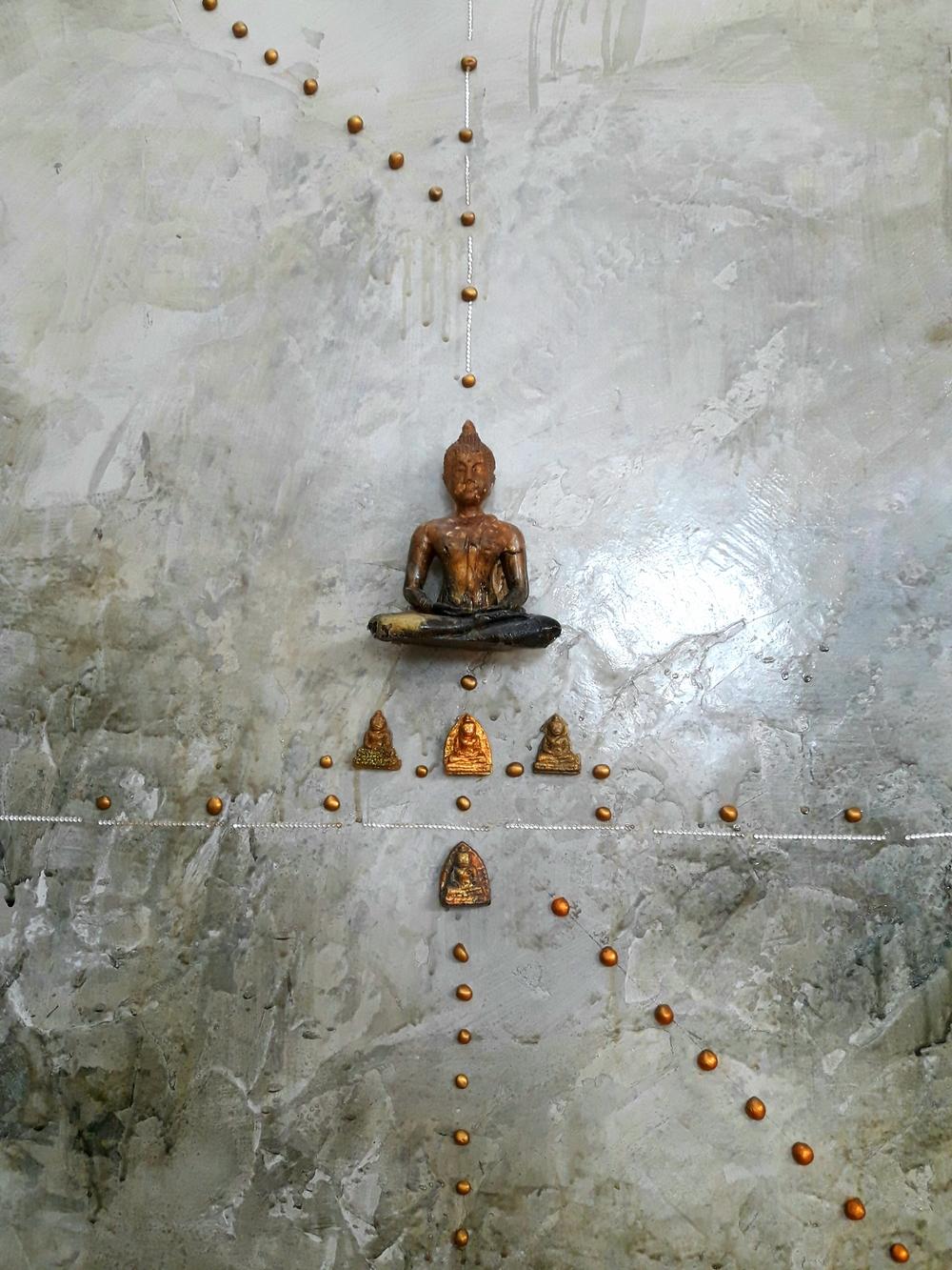 Buddha Sculpture Wall Piece at Bangkok Arts & Culture Centre | Wanderlust Movement
