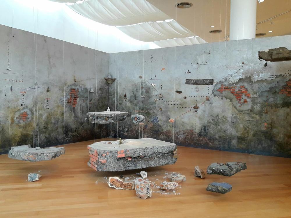 Buddah Destruction Piece at Bangkok Arts & Culture Center | Wanderlust Movement