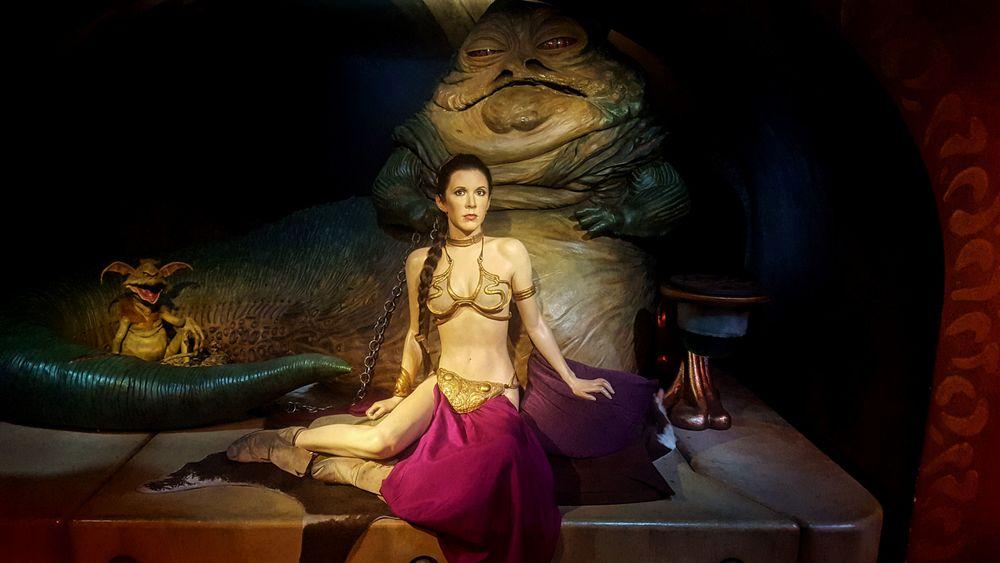 Princess Leia at Madame Tussauds   Wanderlust Movement