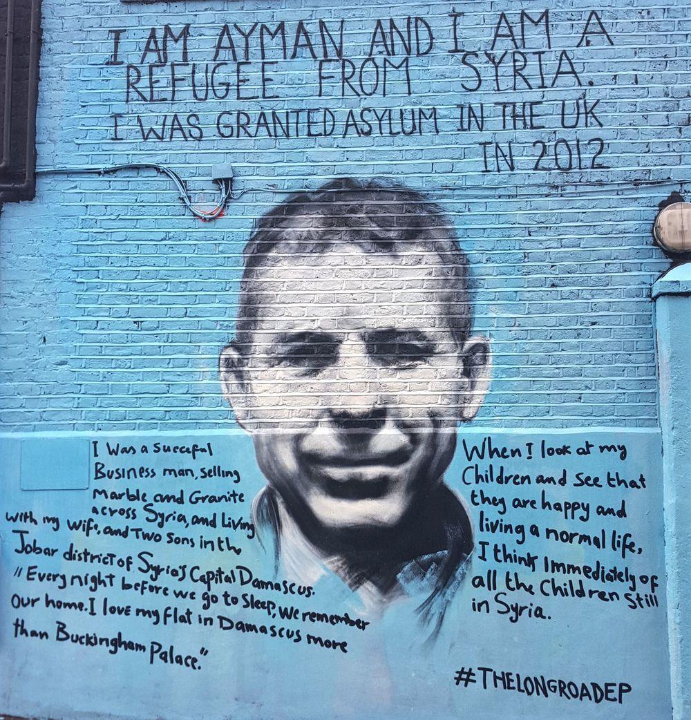 Camden Street Art   Wanderlust Movement