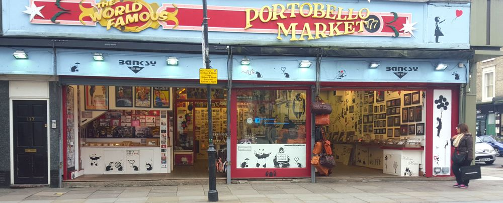 Portobello Market in London   Wanderlust Movement