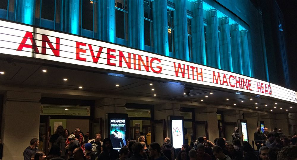 An Evening with Machine Head in London   Wanderlust Movement