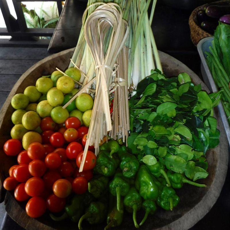 Ingredients at Tamarind Cooking School | Wanderlust Movement