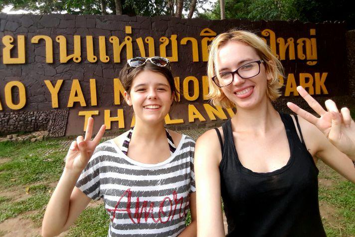 Outside the main gate of Khao Yai National Park | Wanderlust Movement