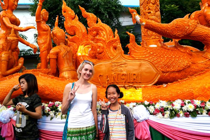 Discovering Thailand's Candle Festival in Ubon | Wanderlust Movement