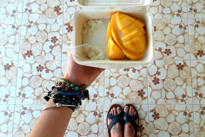Mango and sticky rice in Ubon | Wanderlust Movement