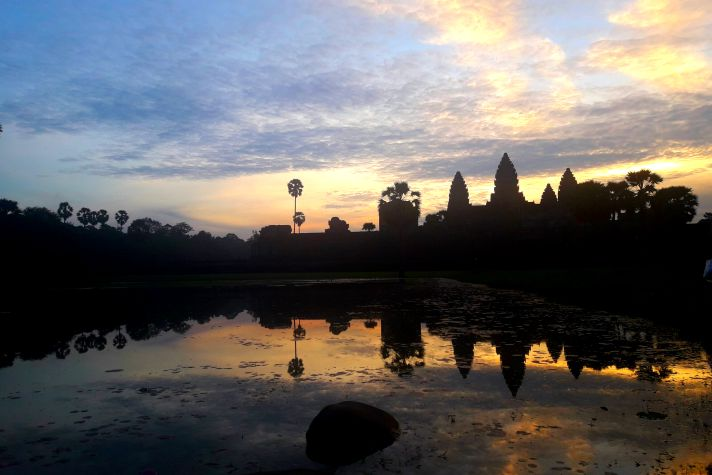 Angkor Wat at Sunrise | Wanderlust Movement
