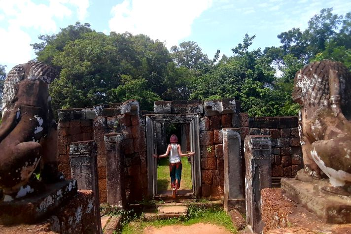 Temple hopping in Cambodia | Wanderlust Movement