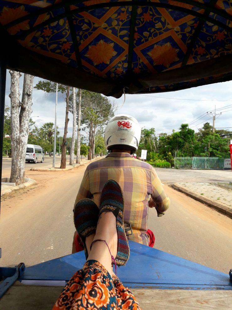 Tuk-tuk drivers in Cambodia | Wanderlust Movement